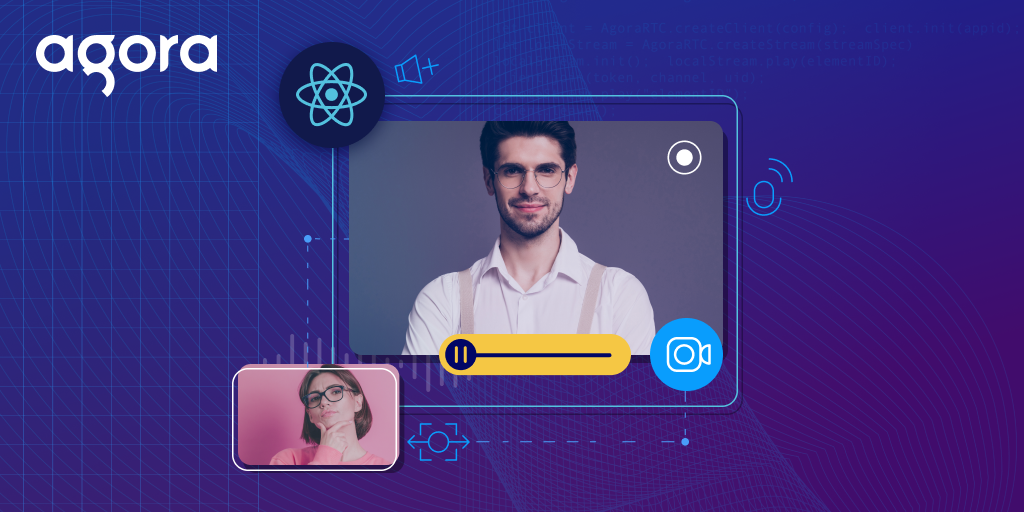Build a Video Calling App Using Agora in a React Project - Featured