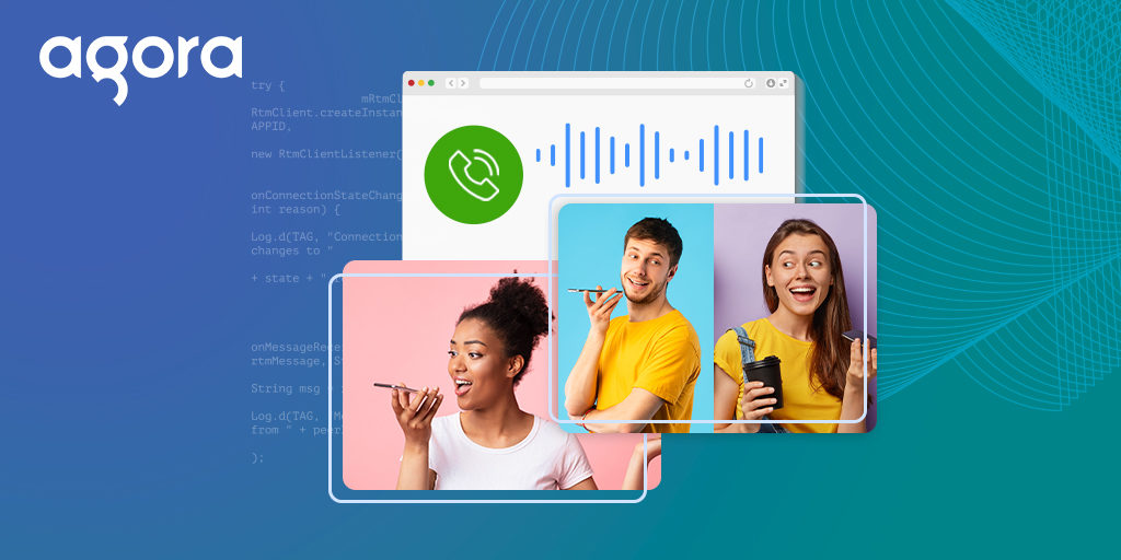 Building Your Own Group Voice Calling Application Using the Agora Web SDK - Featured
