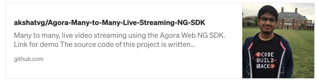 Build Your Own Many To Many, Live Video Streaming Using the Agora Web SDK - Screenshot #4