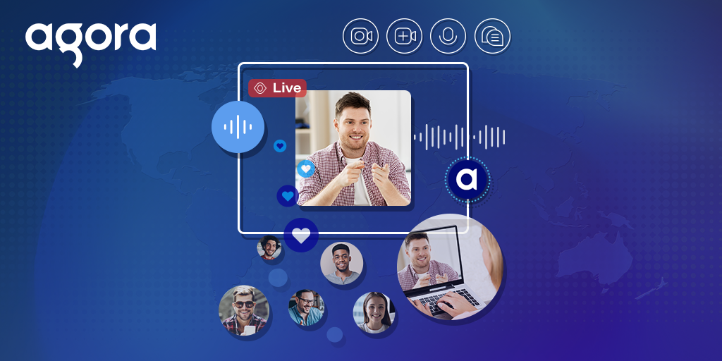 Build Your Own Many To Many, Live Video Streaming Using the Agora Web SDK - Featured