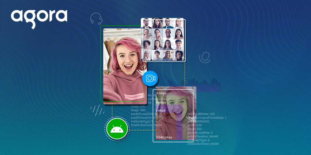 Building an Android Video Chat App with In-Call Statistics featured
