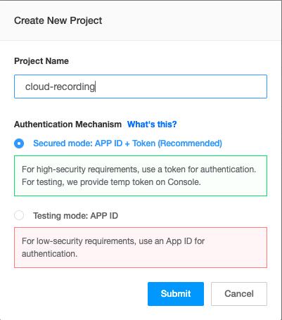 Using Agora Cloud Recording for a Video Chat Web App - Screenshot #2