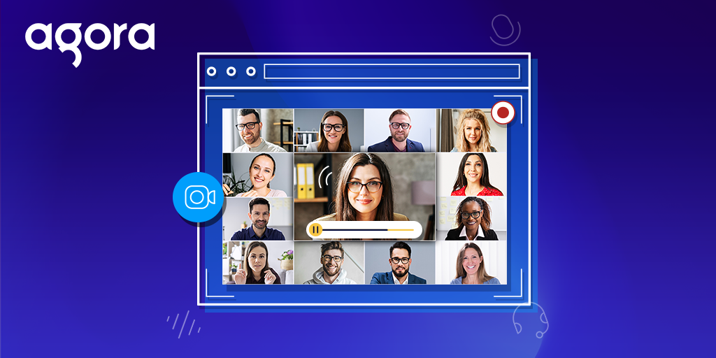 Using Agora Cloud Recording for a Video Chat Web App - Featured