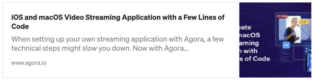 Quickstart with Agora UIKit for iOS screenshot 1