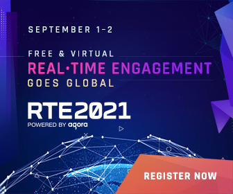 RTE2021 Real Time Engagement Conference, September 1 - 2: Register Now