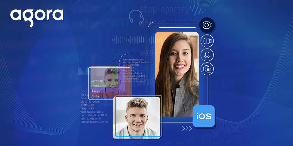 Building an iOS Video Chat App with In-Call Statistics featured
