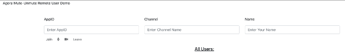 Muting And Unmuting A Remote User In A Video Call Web screenshot 2
