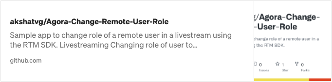 Changing the Role of a Remote Host in a Live Streaming Web App screenshot 5