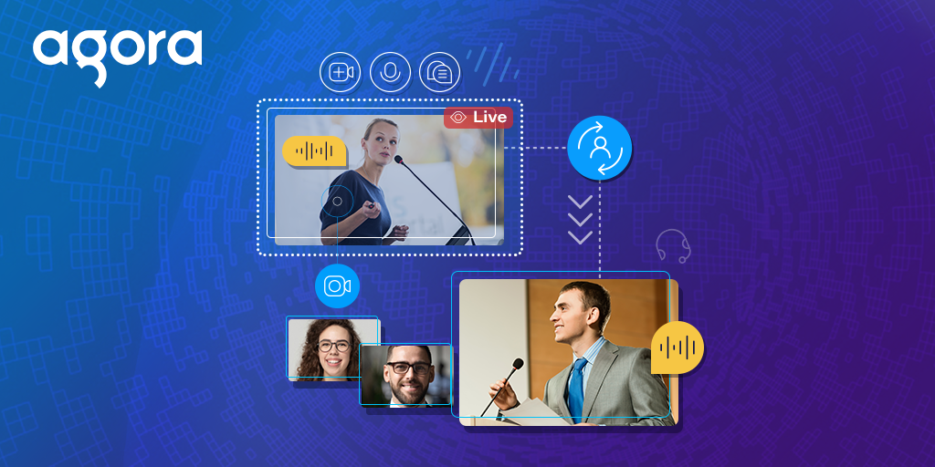 Changing the Role of a Remote Host in a Live Streaming Web App featured