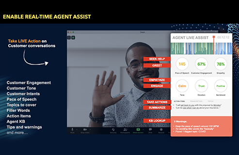Enable real-time agent assistance with the Marview platform