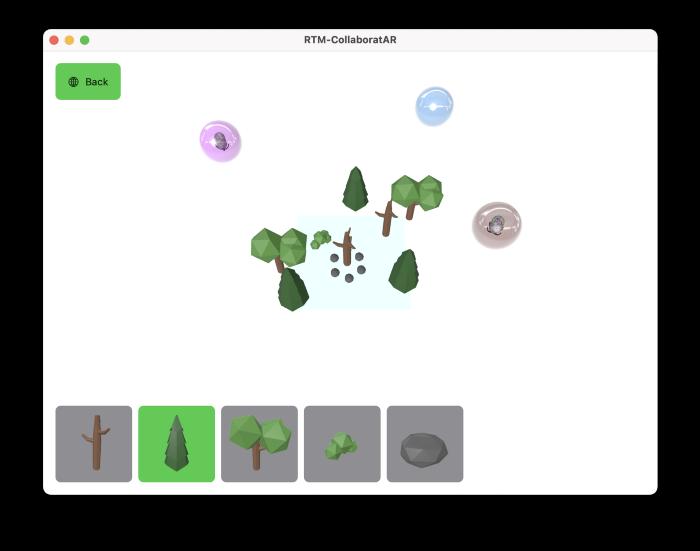 Multi-User Collaborative iOS AR Experiences with Agora (Part 1 of 2) screenshot 2