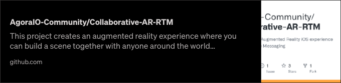 Multi-User Augmented Reality Experiences with Agora (Part 2 of 2) - screenshot 2