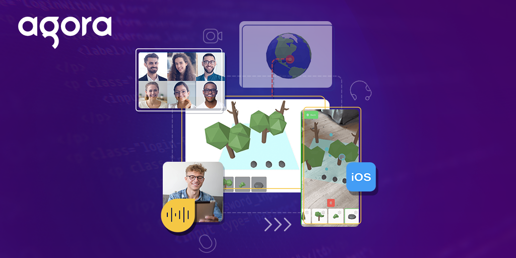 Multi-User Collaborative iOS AR Experiences with Agora (Part 1 of 2) Featured