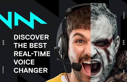 Delight your friends with your own custom voice changer with Voicemod.