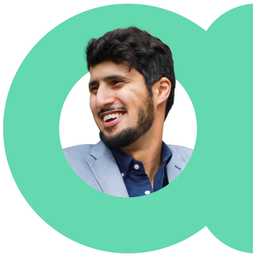 Headshot of Noon Co-Founder, Mohammed Aldhalaan
