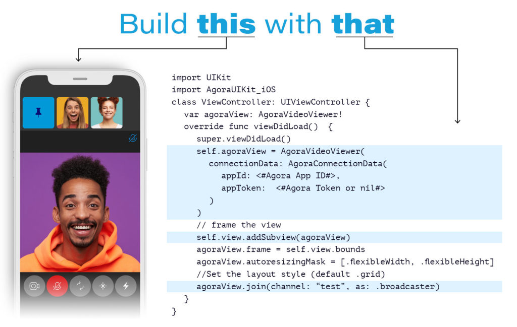 Build this with that - iOS